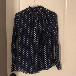 J. Crew cotton/silk blend top. Size 2